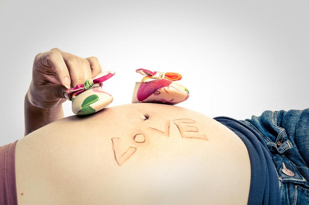 Pregnancy Catania fotografo bravo nascita