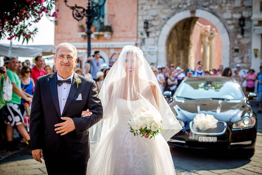 Fotografo matrimonio Sicilia chiesa San Giuseppe Taormina