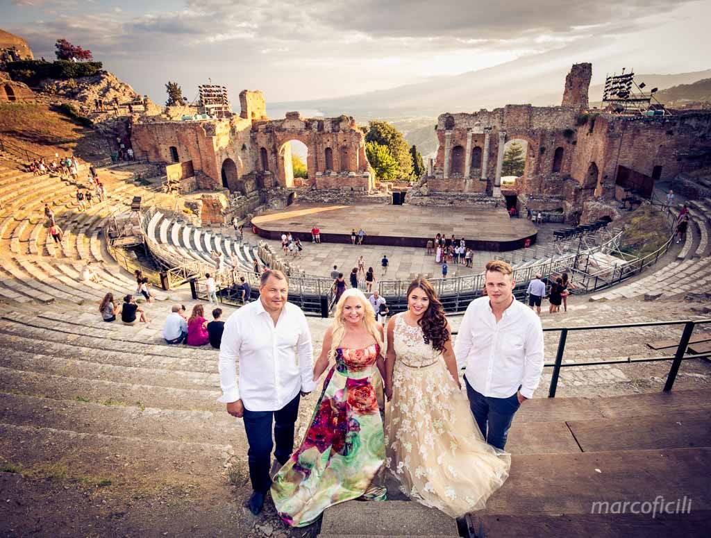 Portrait Photos Taormina _Greek_Theatre