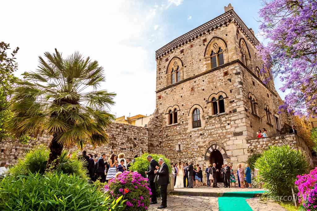 Matrimonio civile Palazzo Duchi Taormina