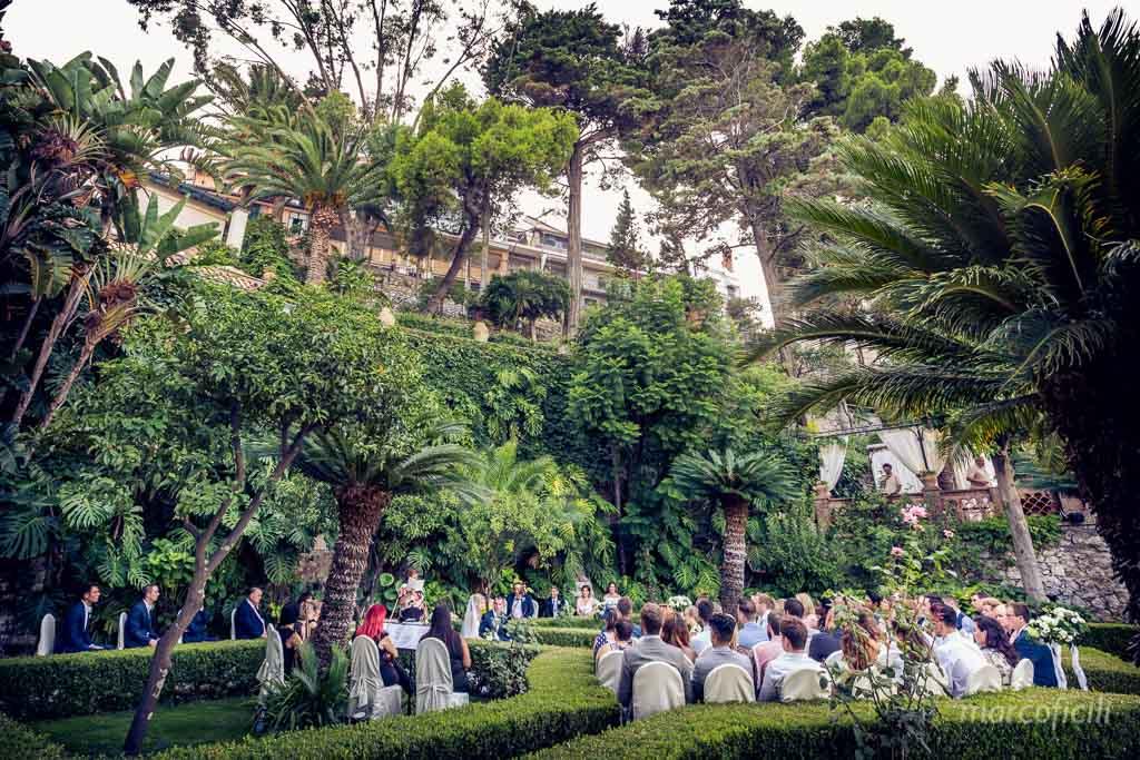 Cerimonia Civile Villa Sant'Andrea Taormina