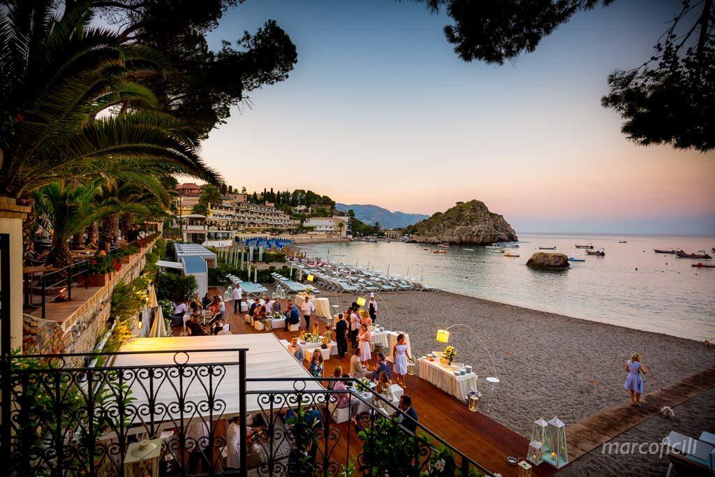 Intimate wedding Villa Sant'Andrea Taormina