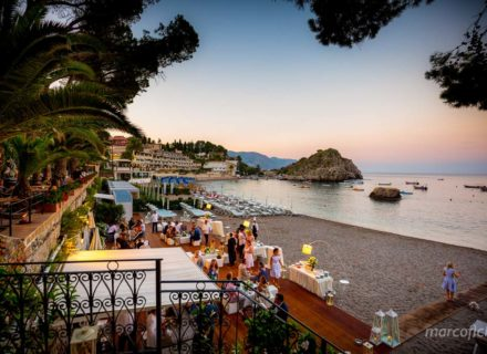 Intimate wedding Villa Sant'Andrea Taormina