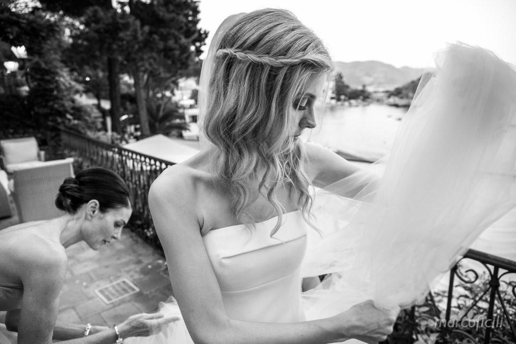 Intimate wedding Villa Sant''Andrea Taormina