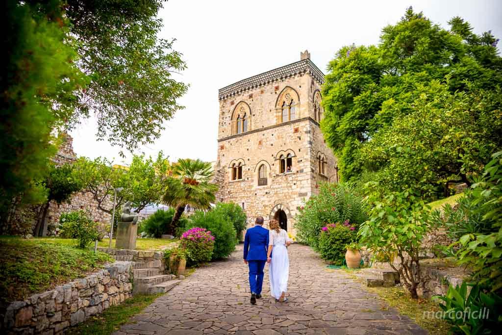 Matrimonio Palazzo Duchi di Santo Stefano, Taormina, Sicilia