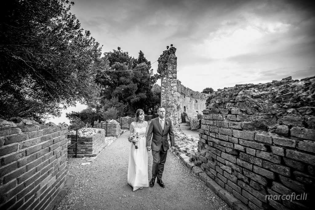 Wedding photos Greek Theatre Taormina