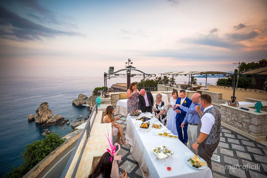 Wedding Villa Antonio Taormina, Sicily