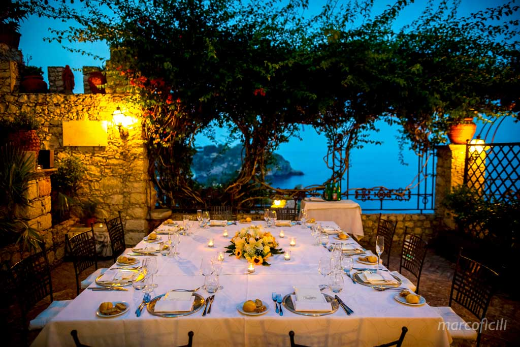 Wedding Villa Antonio Taormina, Sicily