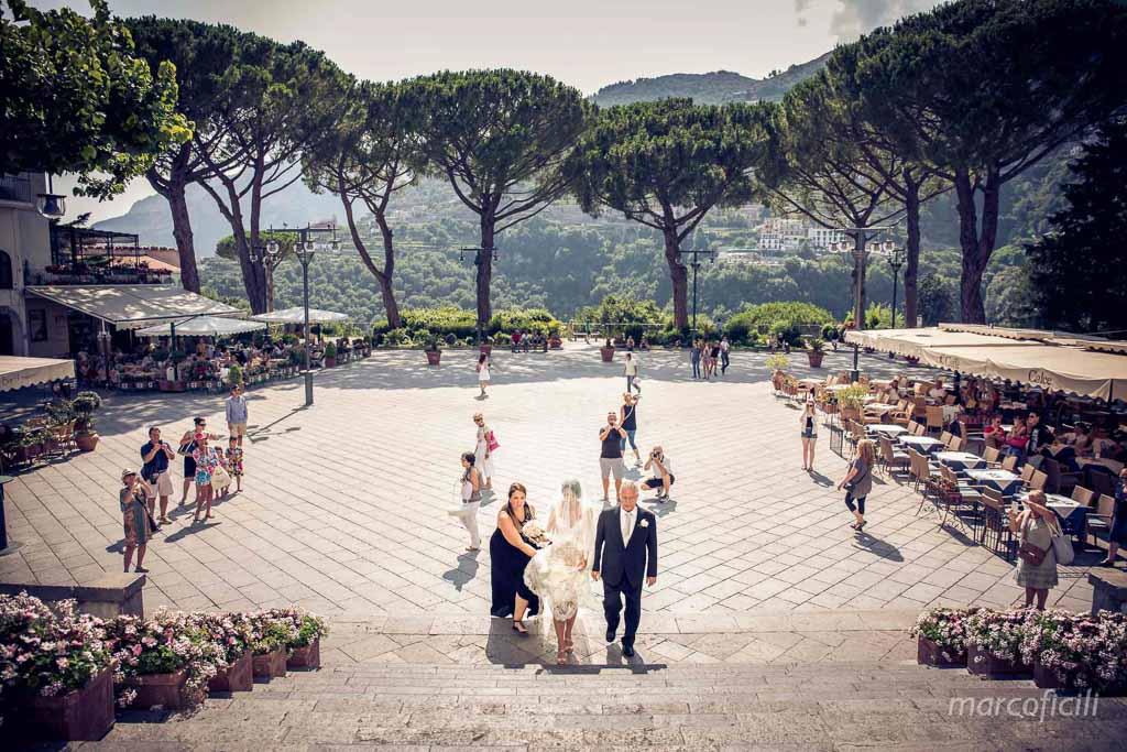 Matrimonio Villa Eva Ravello