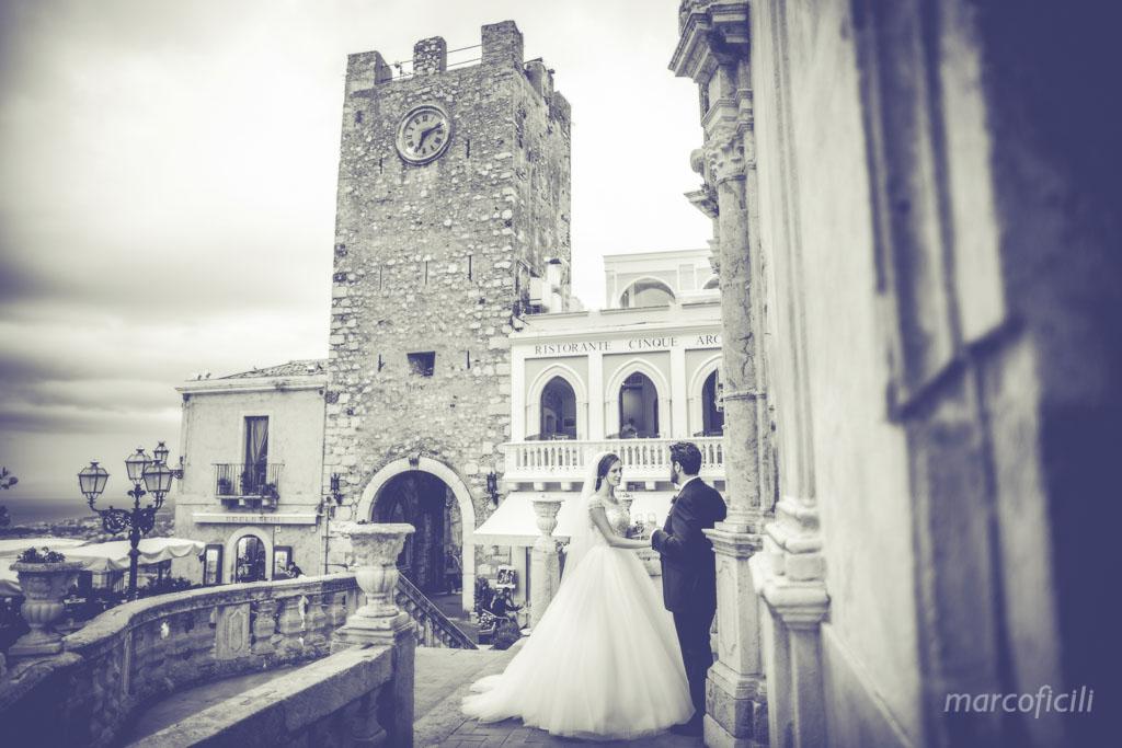 Matrimonio Taormina corso Umberto Chiesa San Giuseppe