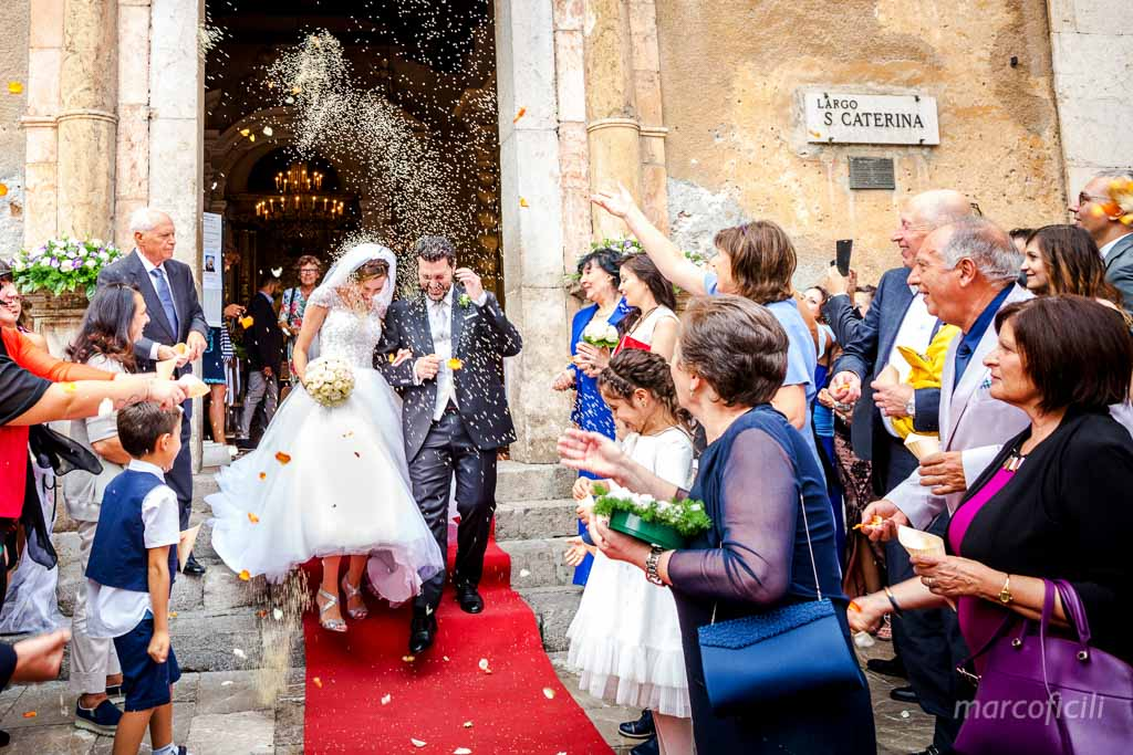 Wedding Santa Caterina church Taormina
