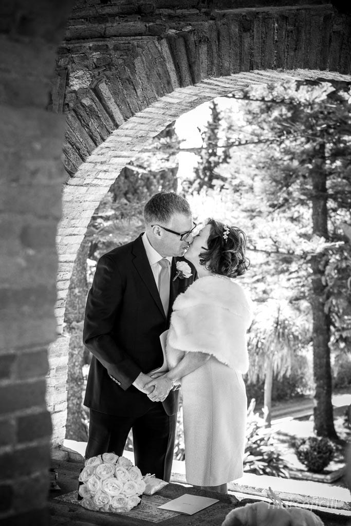 Wedding ceremony Villa Taormina  Gardens Sicily