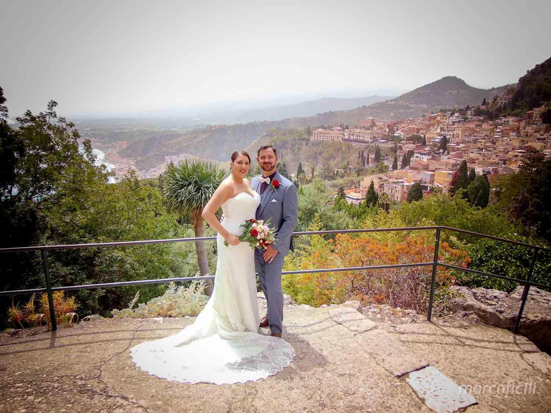 Fuga d'amore Taormina, Palazzo del Comune di Taormina, Teatro Greco, matrimonio
