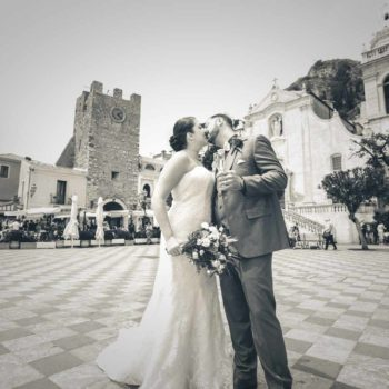 Intimate wedding in Taormina – Happy Wedding!  Mary and Frank
