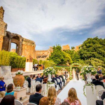 Matrimonio all'ombra del Teatro Greco – L'amore è per sempre, Ian e Stephanie