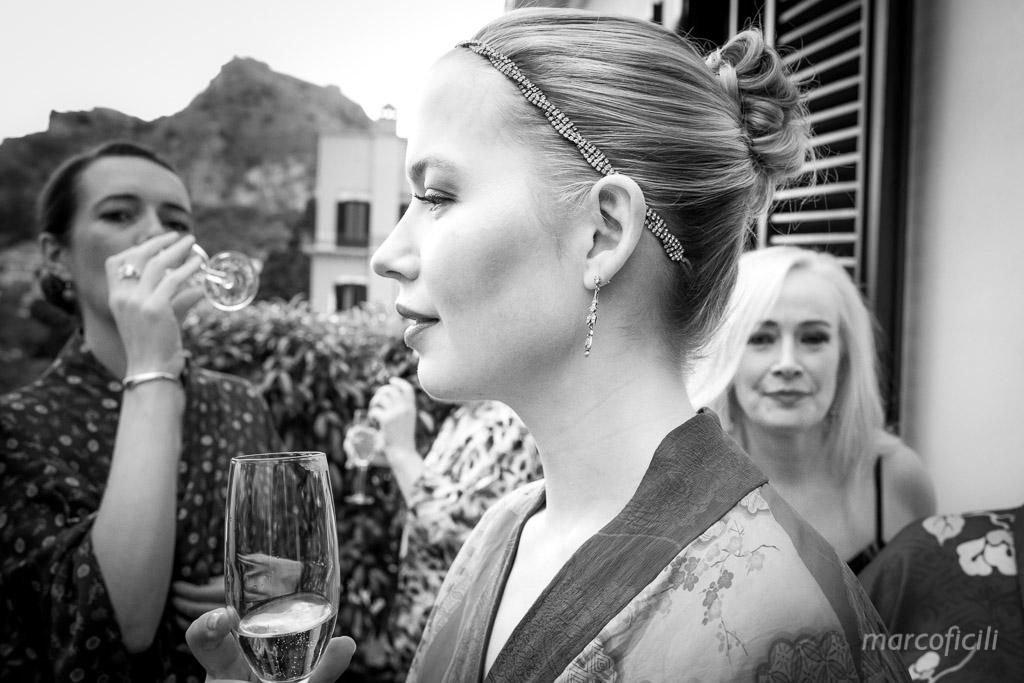 Wedding in the shadows of the Greek Theatre, Taormina, Sicily, Belmond, Timeo, photographer, wedding, best, Marco Ficili, top, ceremony, bride, groom, love