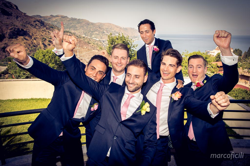 Chic Wedding Taormina _Sicily_Italy_best_wedding_photographer_videographer_video_happy_timeo_belmond_groom_ushers