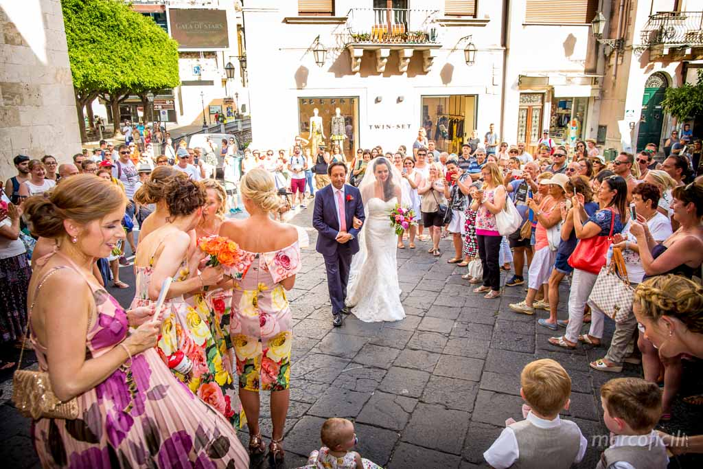 Chic Wedding Taormina _Sicily_Italy_best_wedding_photographer_videographer_video_santa_saint_caterina_church_marco_ficili_bride_bridesmaids