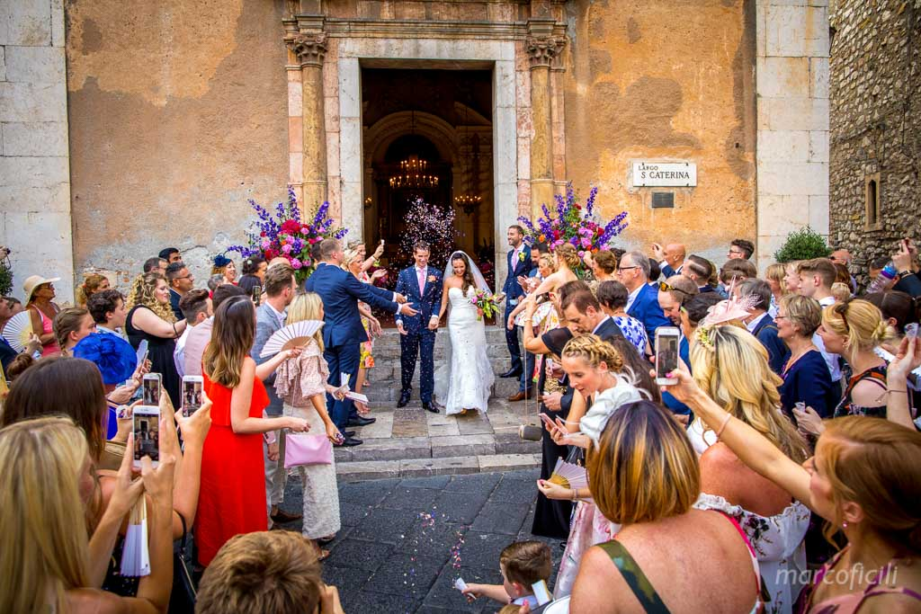Chic Wedding Taormina _Sicily_Italy_best_wedding_photographer_videographer_video_santa_saint_caterina_church_marco_ficili_bride_groom