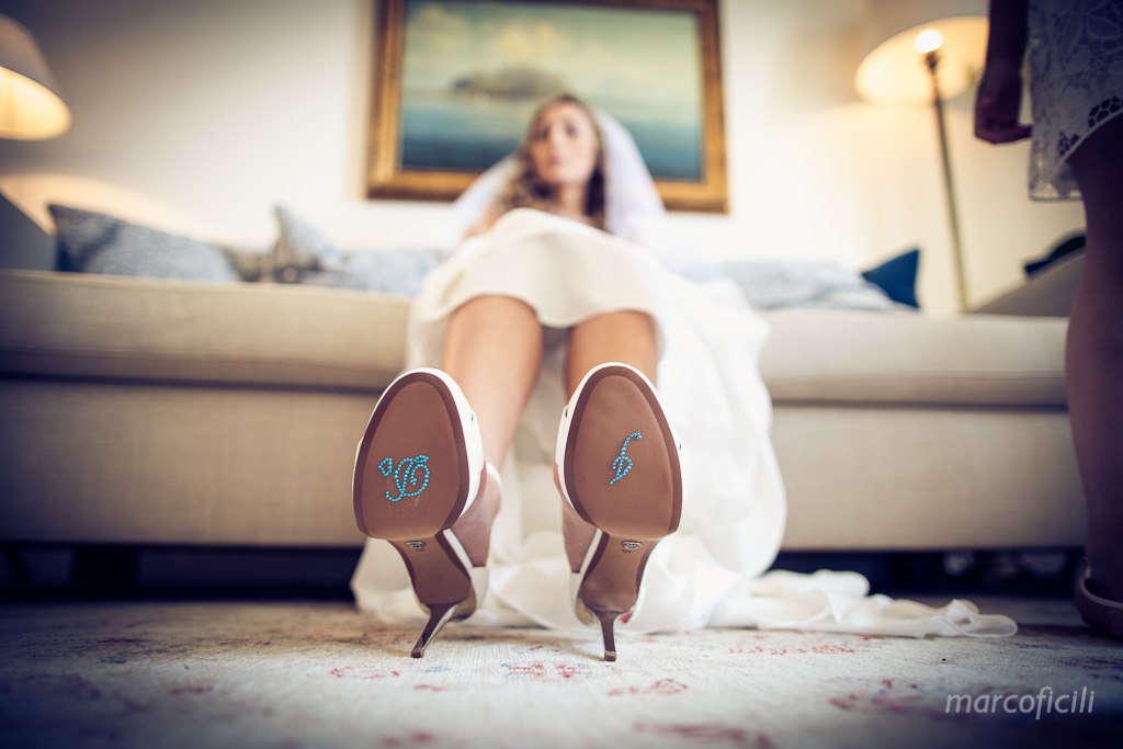 Jewish Wedding Taormina _Sicily_timeo_belmond_bride_dress_amazing_stunning, shoes,