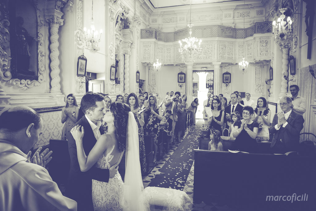 Wedding Taormina Varò church _Sicily__best_photographer_videographer_bride_groom_kiss