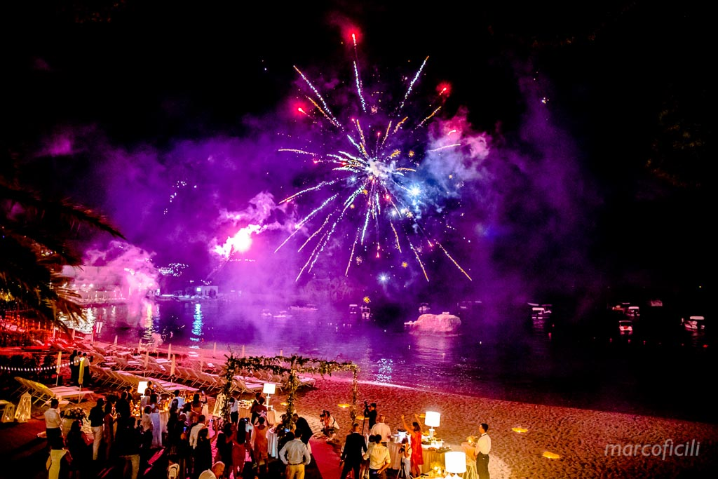 Fireworks Wedding Taormina _wedding_sicily_catania_lovely_luxury_amazing_happy_beach_villa_santandrea_belmond_top_photographer_videographer_fireworks_sea_night_beach_stunning