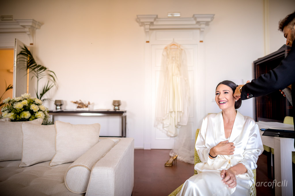 Villa Mon Repos Wedding _taormina_sicily_bride_dog_getting_ready_preparation_dress