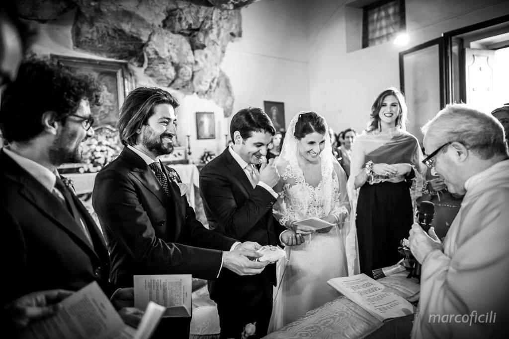 Matrimonio Madonna della Rocca Taormina, matrimonio, fedi