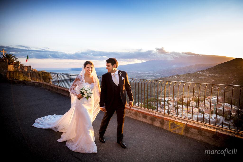 Matrimonio Madonna della Rocca Taormina, matrimonio, magnifica, vista, etna, tramonto