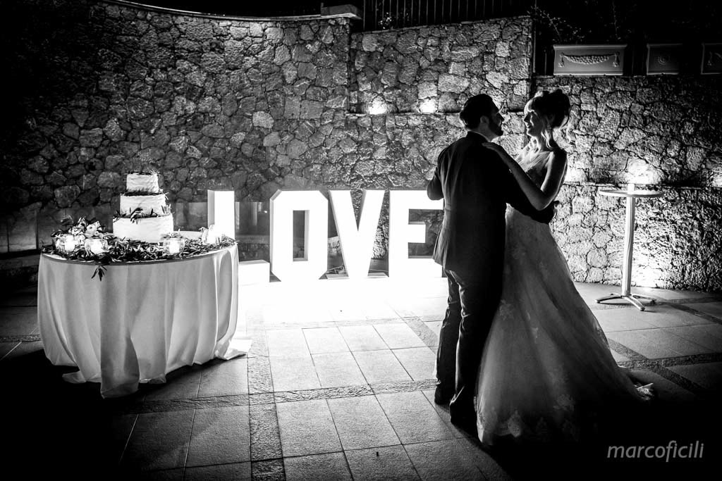 First Dance, Cake cutting, Love, Taormina,