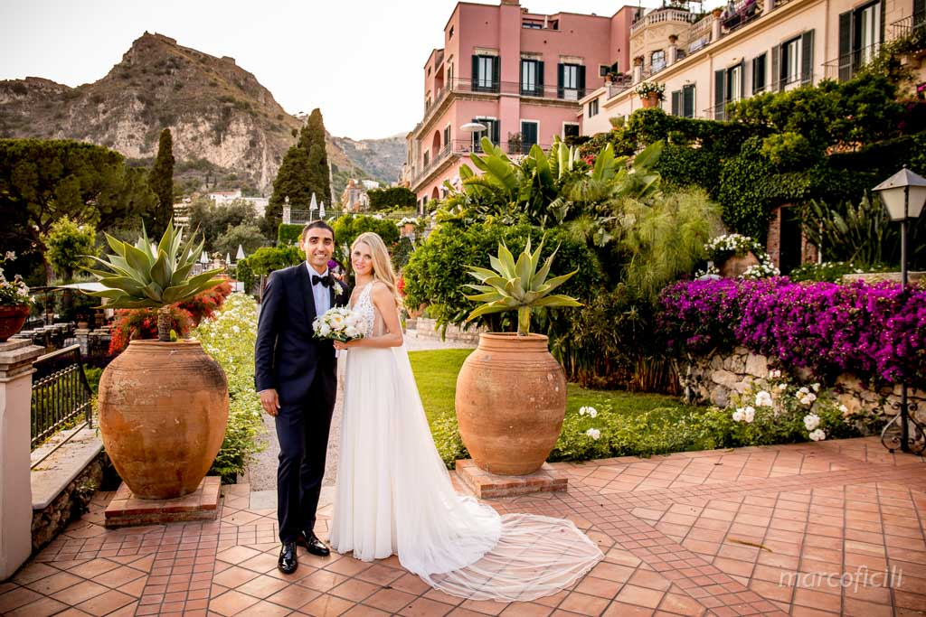 bride and groom, wedding, photo, shooting, timeo, Belmont, taormina,