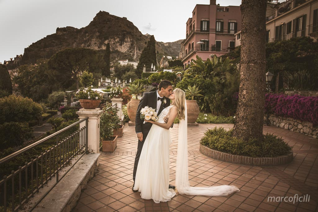 Belmond Grand Hotel Timeo, timeo, taormina, bride, groom, photo, session, shooting, garden, wedding, pictures