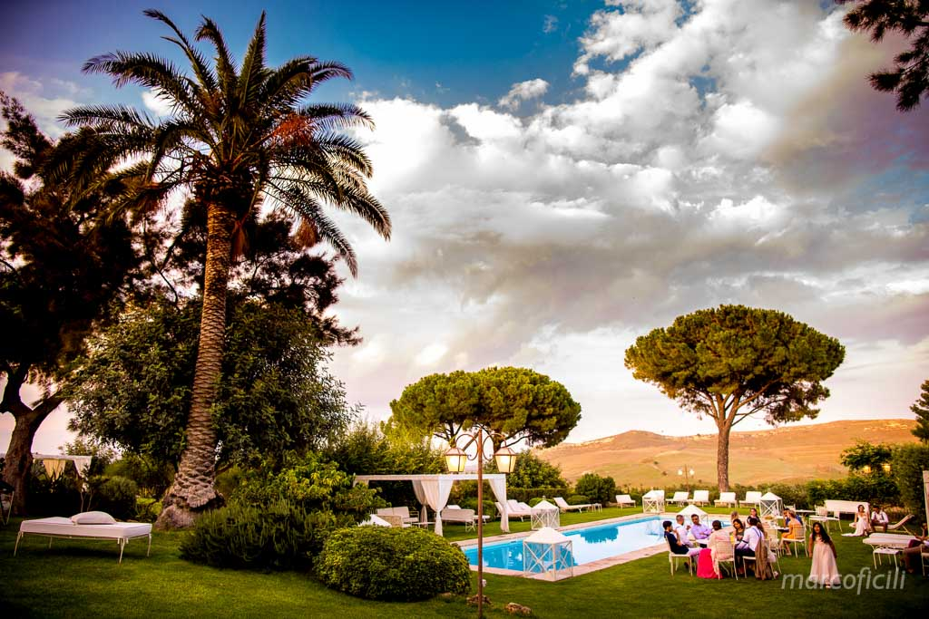 Camemi Castle Wedding, pool, party