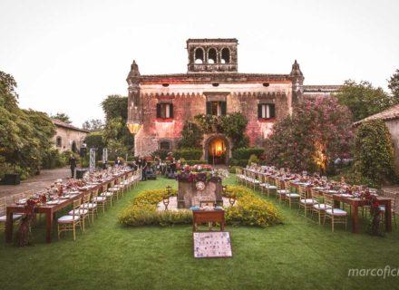 Castello Matrimonio Sicilia, il padrino, set, matrimonio, chic
