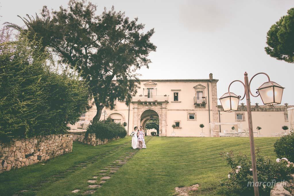 Castello Camemi, sposa, cerimonia, ingresso sposa, prato