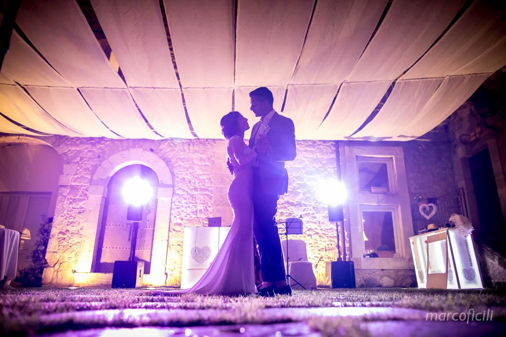 Castello Camemi, ballo, sposi