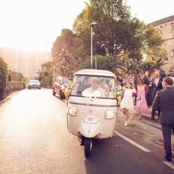 Matrimonio Ape Calessino Taormina – Susanna e Marco