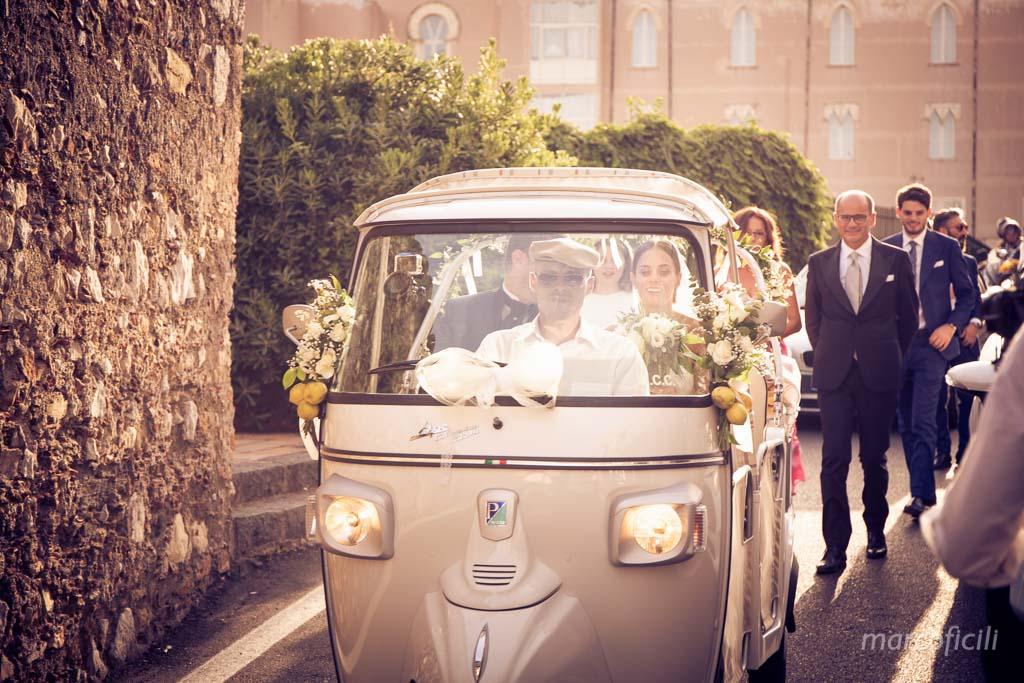 Matrimonio Ape Calessino Taormina, amore, eleganza, fotografo, migliore, divertente, chic