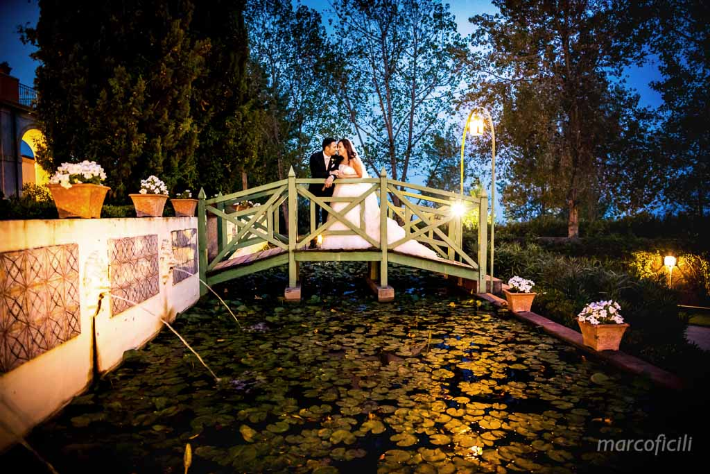 Giardini Villa Fago, terrazza, foto, sposi, matrimonio, ponte, pose, foto sposi,