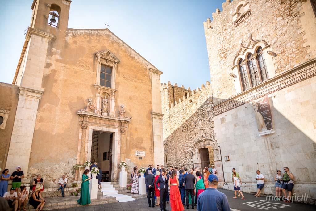 chiesa santa Caterina, taormina, matrimonio, elegante, centrale, chic, super, fotografo