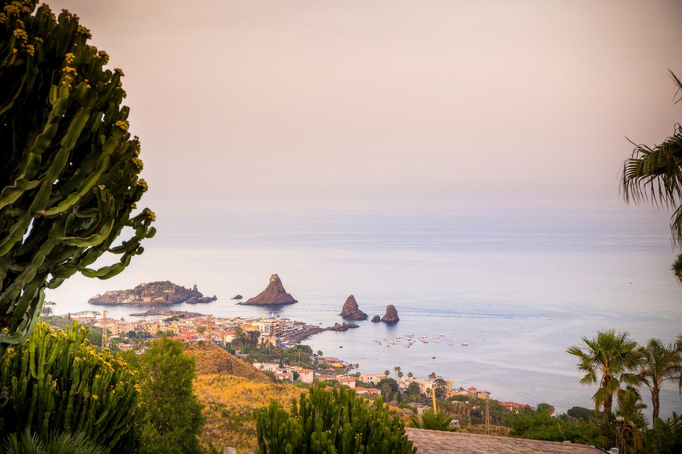 Casa delle terre Forti Matrimonio _acicastello_fotografo-chiesa-san giuliano-catania-panoramica-tramonto