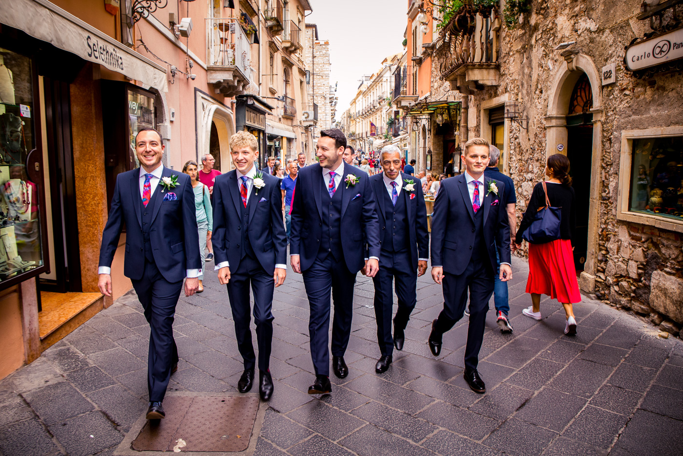 Lovely Wedding Taormina-bestman-groom-corso-umberto