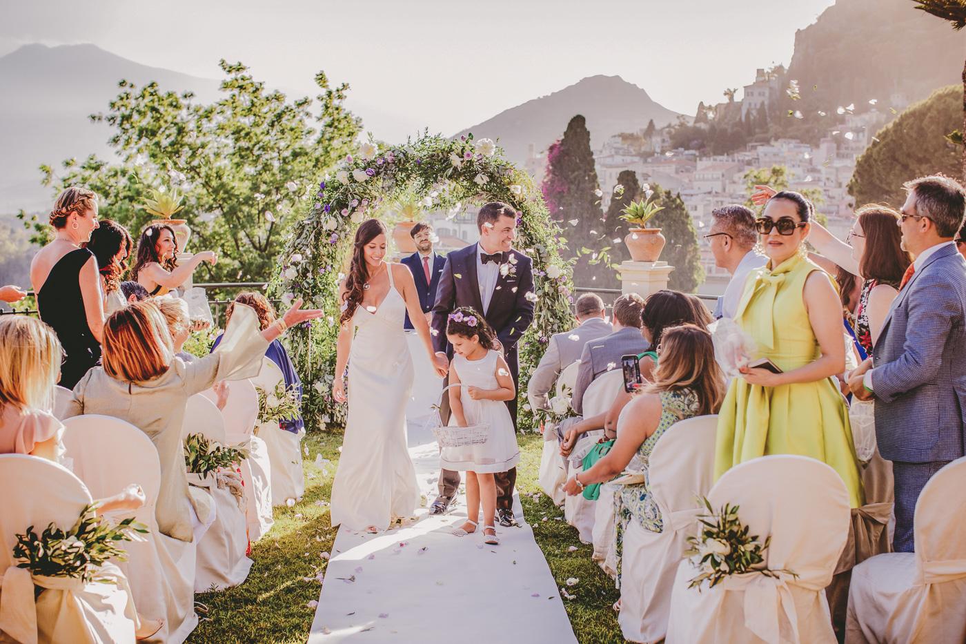 Intimate Wedding Taormina